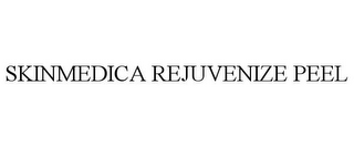 mark for SKINMEDICA REJUVENIZE PEEL, trademark #85396823