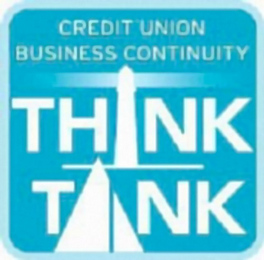 mark for CREDIT UNION BUSINESS CONTINUITY THINK TANK, trademark #85396914