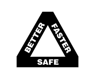 mark for BETTER FASTER SAFE, trademark #85397623