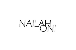 mark for NAILAH ONI, trademark #85397786