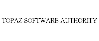 mark for TOPAZ SOFTWARE AUTHORITY, trademark #85397788