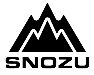 mark for SNOZU, trademark #85397940