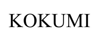 mark for KOKUMI, trademark #85398567
