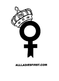 mark for ALLLADIESFIRST.COM, trademark #85398780