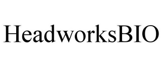 mark for HEADWORKSBIO, trademark #85399420
