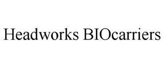 mark for HEADWORKS BIOCARRIERS, trademark #85399564