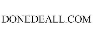mark for DONEDEALL.COM, trademark #85399820