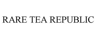 mark for RARE TEA REPUBLIC, trademark #85400251