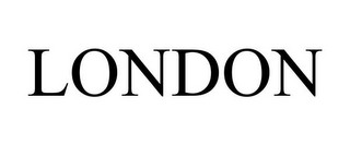 mark for LONDON, trademark #85400254