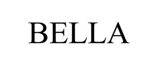 mark for BELLA, trademark #85400346