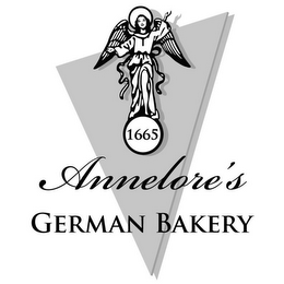 mark for 1665 ANNELORE'S GERMAN BAKERY, trademark #85401072