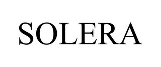 mark for SOLERA, trademark #85401545