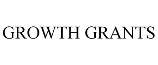 mark for GROWTH GRANTS, trademark #85401722