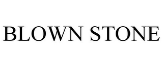 mark for BLOWN STONE, trademark #85401799