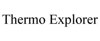 mark for THERMO EXPLORER, trademark #85402085