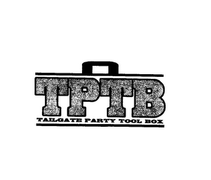 mark for TPTB TAILGATE PARTY TOOL BOX, trademark #85402110