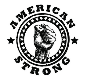 mark for AMERICAN STRONG, trademark #85402425