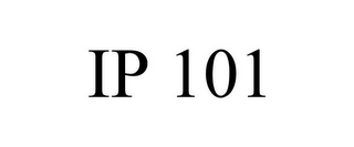 mark for IP 101, trademark #85402460