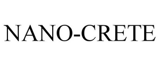 mark for NANO-CRETE, trademark #85402626
