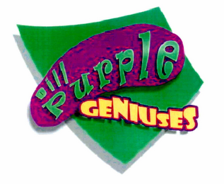 mark for DILL PURPLE GENIUSES, trademark #85403007