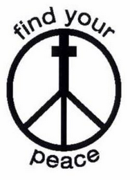 mark for FIND YOUR PEACE, trademark #85403367