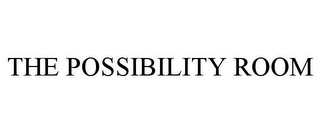 mark for THE POSSIBILITY ROOM, trademark #85403920