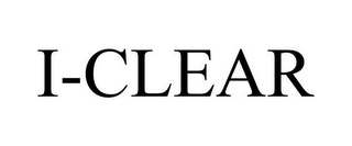 mark for I-CLEAR, trademark #85405098