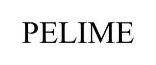 mark for PELIME, trademark #85405239