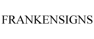 mark for FRANKENSIGNS, trademark #85405428