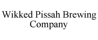 mark for WIKKED PISSAH BREWING COMPANY, trademark #85405552