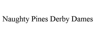 mark for NAUGHTY PINES DERBY DAMES, trademark #85406634