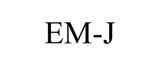 mark for EM-J, trademark #85406876