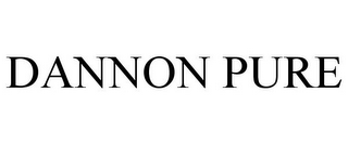 mark for DANNON PURE, trademark #85407027
