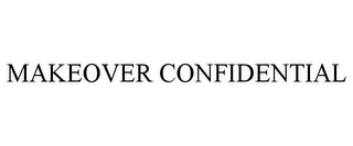 mark for MAKEOVER CONFIDENTIAL, trademark #85407073