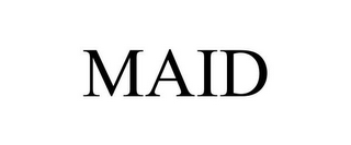 mark for MAID, trademark #85407199