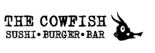 mark for THE COWFISH SUSHI BURGER BAR, trademark #85407309