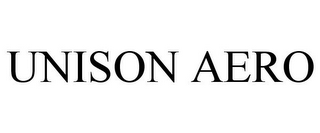 mark for UNISON AERO, trademark #85407371