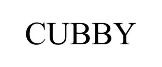 mark for CUBBY, trademark #85407458