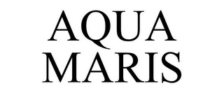 mark for AQUA MARIS, trademark #85407559
