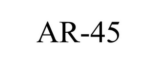 mark for AR-45, trademark #85407654