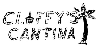 mark for CLFFY'S CANTINA, trademark #85407695