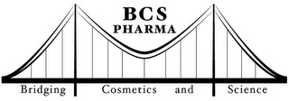 mark for BCS PHARMA BRIDGING COSMETICS AND SCIENCE, trademark #85407734