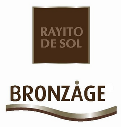 mark for RAYITO DE SOL BRONZAGE, trademark #85408156