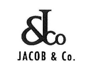 mark for JACOB & CO. & J CO, trademark #85408550