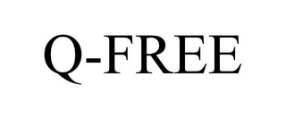 mark for Q-FREE, trademark #85408666
