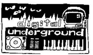 mark for DIGITAL UNDERGROUND, trademark #85408961