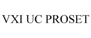 mark for VXI UC PROSET, trademark #85409380