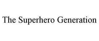 mark for THE SUPERHERO GENERATION, trademark #85409451