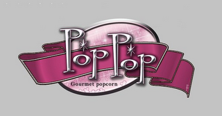 mark for POP POP GOURMET POPCORN PP, trademark #85409762