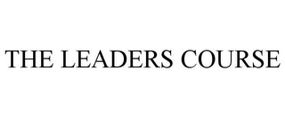 mark for THE LEADERS COURSE, trademark #85410166